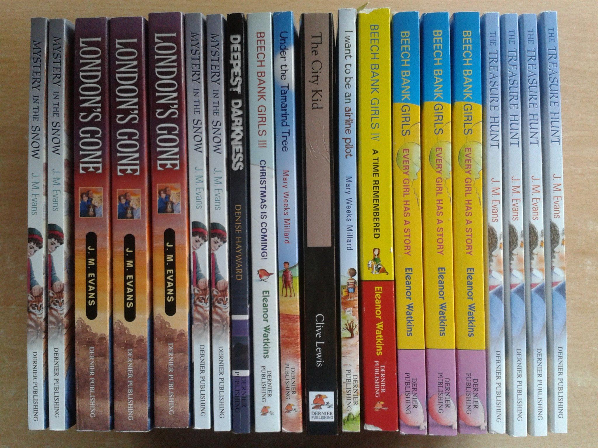 Dernier books to Africa