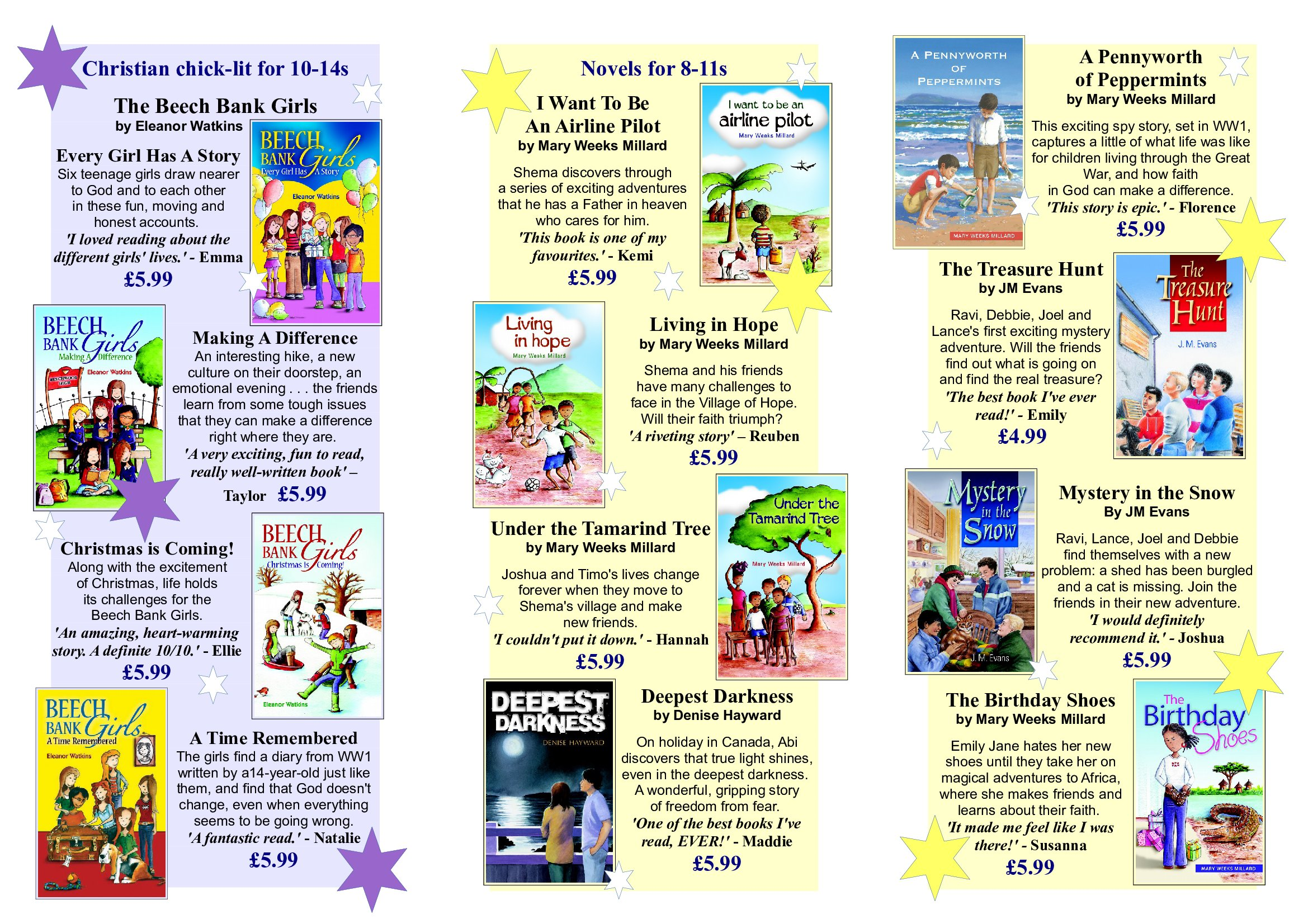 christian books for young people dernier publishing