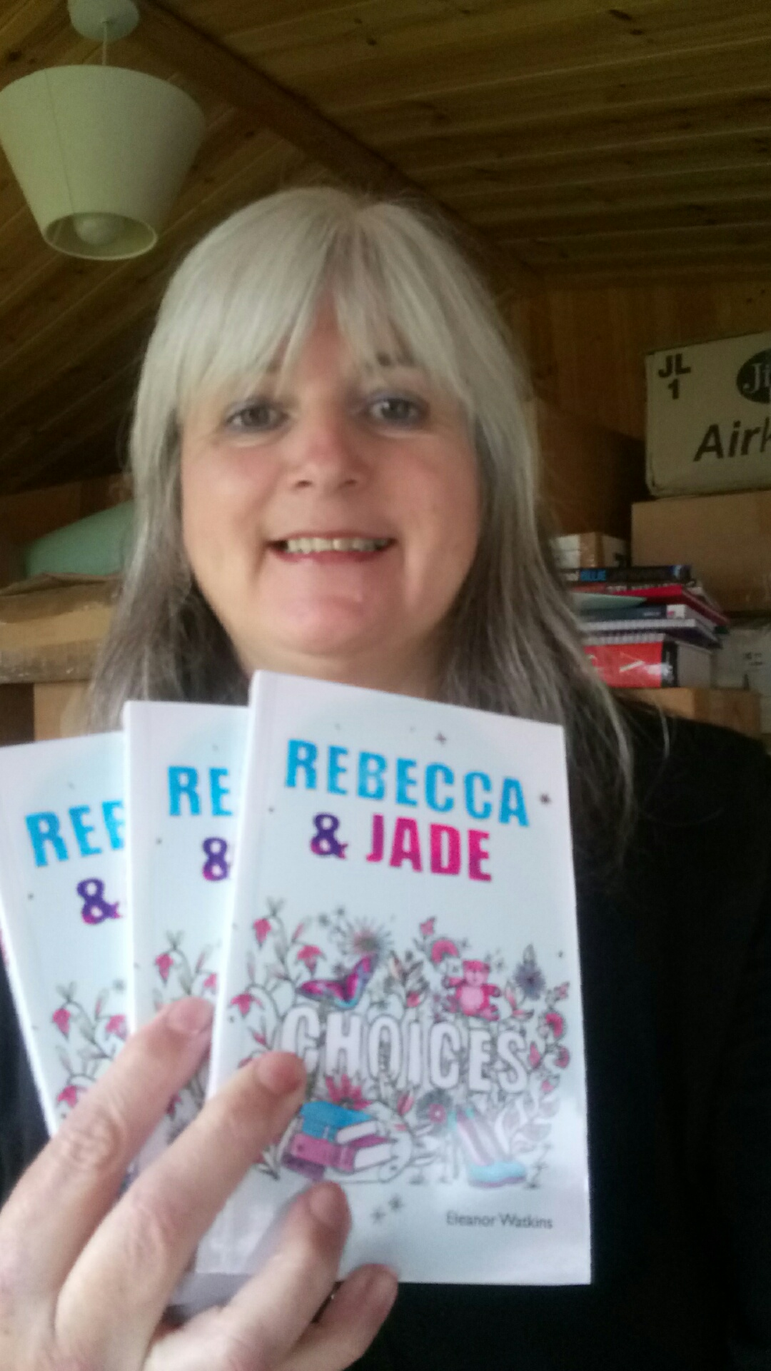 Rebecca and Jade: Choices held by Janet Wilson of Dernier Publishing
