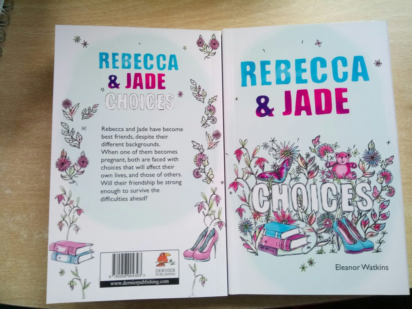 Rebecca and Jade: Choices, YA novel