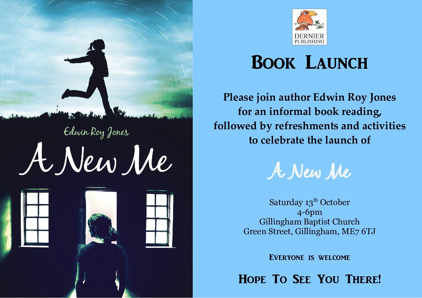 A New Me Launch Invite