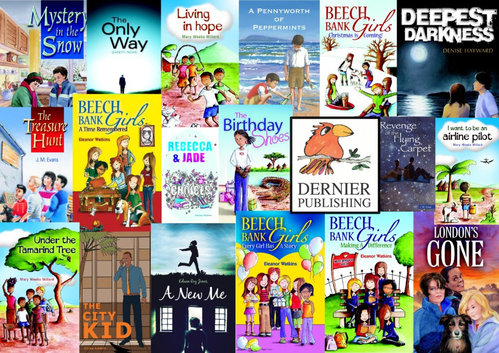 All Dernier Publishing Christian books for young people