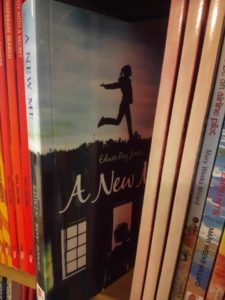 Dernier Publishing books on shelf in bookshop