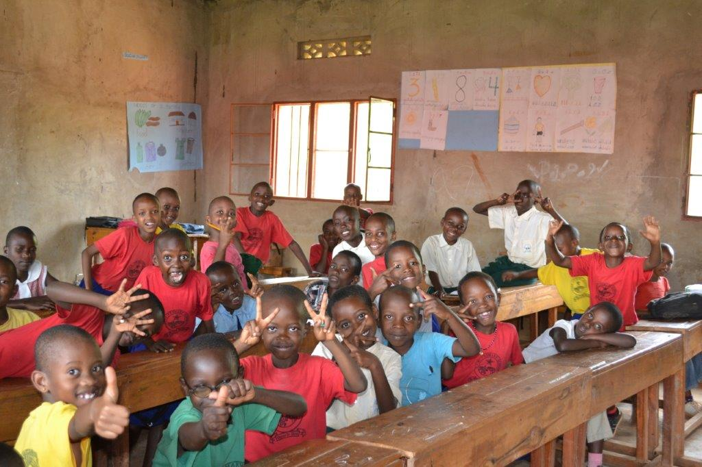 Children at Star School, Kigali