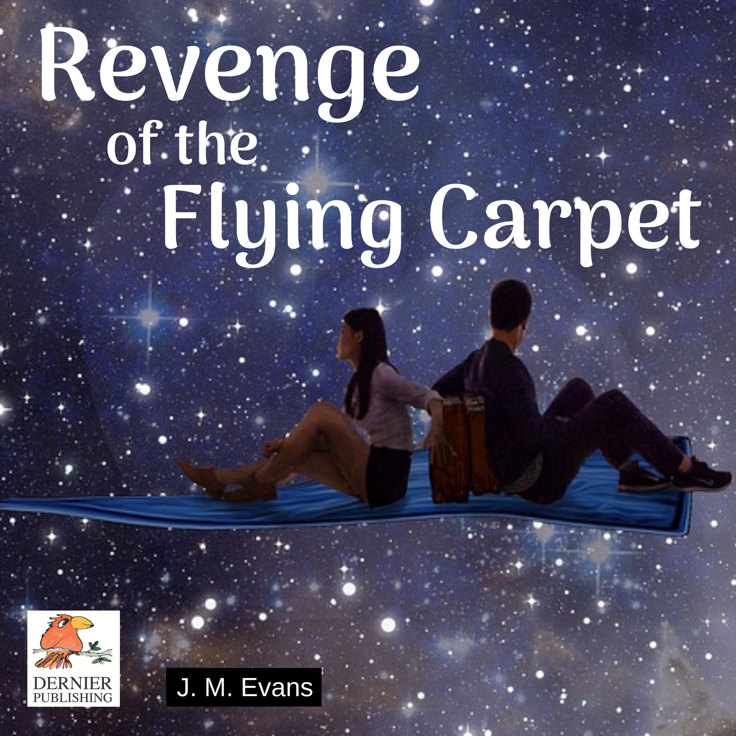 audio cover Revenge of the Flying Carpet